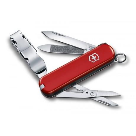 NAILCLIP 580 65мм 8 предметов красный кус ножн Vx06463