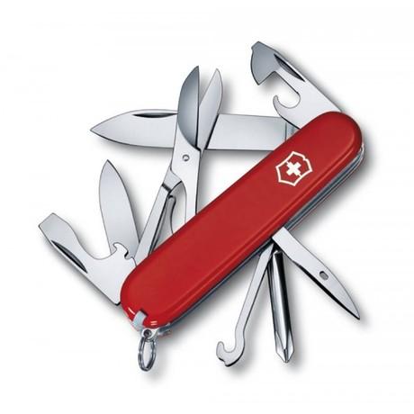 SUPER TINKER 91мм 14 предметов красный отвертка ножн крюк Vx14703