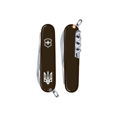 WAITER UKRAINE 84мм 1сл 9 предметов черн штоп Трезубец.бел. Vx03303.3R1