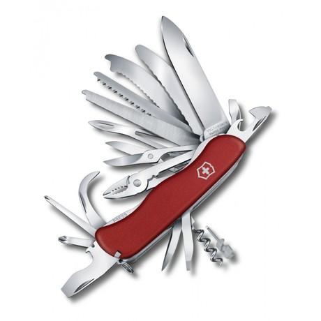 WORKCHAMP XL 111мм 30 предметов красный.нейлон lock штоп пила ножн плоск напил отвертка Vx08564.XL