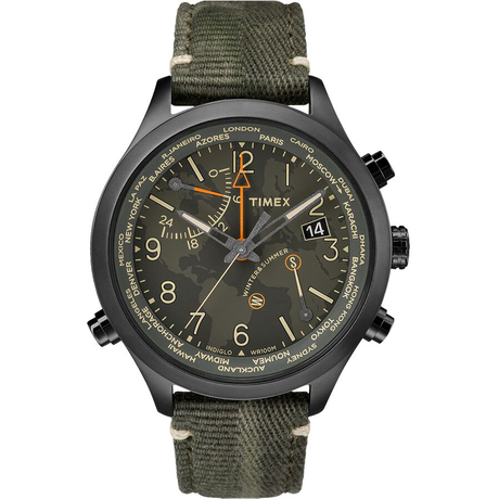 Мужские часы IQ Waterbury World Time Tx2r43200