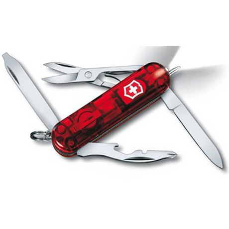 Складной нож Victorinox MIDNITE MANAGER 58мм 10 предметов Vx06366.T