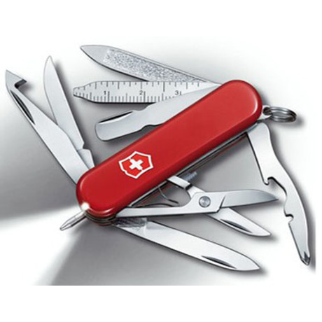 Складной нож Victorinox MIDNITE MINICHAMP 58мм 16 предметов Vx06386