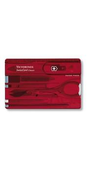 Складной нож Victorinox SWISSCARD 10 предметов Vx07100.T