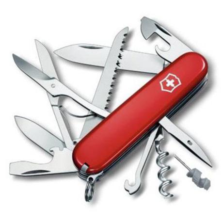 Складной нож Victorinox HUNTSMAN 91мм 18 предметов Vx13715