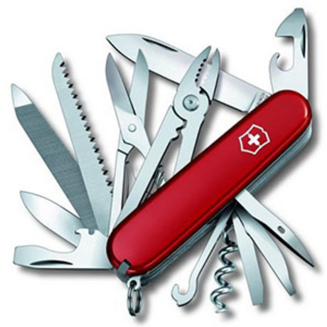 Складной нож Victorinox HANDYMAN 91мм 24 предмета Vx13773