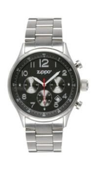 Часы ZIPPO CHRONOGRAPH BLACK 45001