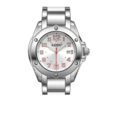 Часы ZIPPO DRESS SILVER 45015