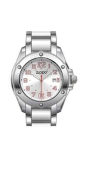 Часы ZIPPO DRESS SMALL SILVER 45024