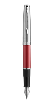 Ручка перьевая Waterman EMBLEME Red CT FP F 13 502