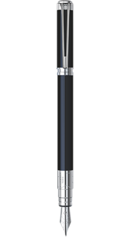 Ручка Waterman PERSPECTIVE Black CT FP F 11401