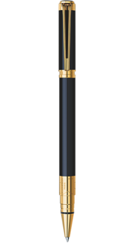 Ручка Waterman PERSPECTIVE Black GT RB 41400