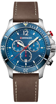 Мужские часы Wenger SEAFORCE Chrono W01.0643.116