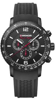 Мужские часы Wenger ROADSTER Black Night Chrono W01.1843.102