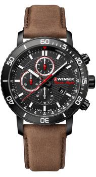 Мужские часы Wenger ROADSTER Black Night Chrono W01.1843.107