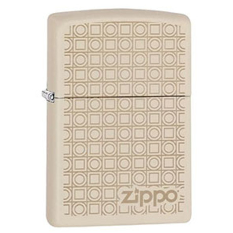 Зажигалка ZIPPO 216 PF19 Geometric Boxes Design 29923