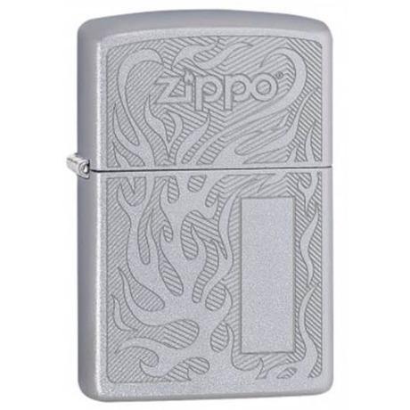 Зажигалка Zippo 205 PF18 Zippo Logo Desing 29698