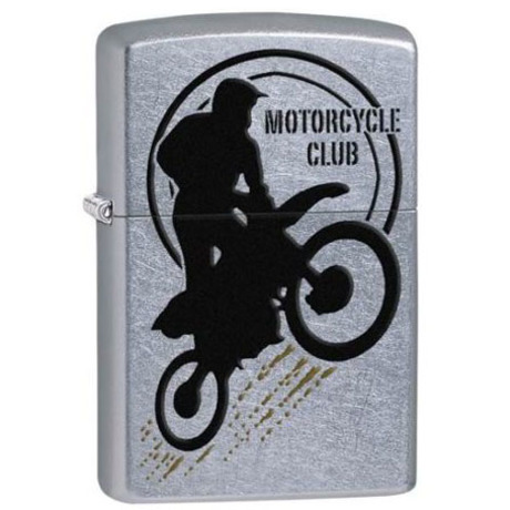 Зажигалка Zippo 207 PF18 Motorbike Club Desing 29695