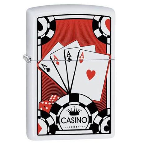 Зажигалка Zippo 214 PF18 Four Aces Design 29690