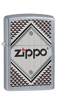 Зажигалка Zippo 207 ZIPPO RED AND CHROME 28465