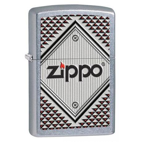 Зажигалка Zippo 207 ZIPPO RED AND CHROME 28465