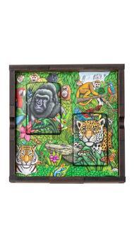 Коллекционный набор флуоресцентных зажигалок Zippo Mysteries of the Forest 49347