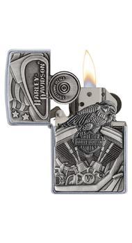 Зажигалка ZIPPO 207 Harley-Davidson Motor Flag 29266
