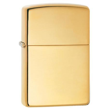 Зажигалка Zippo High Polish Brass 254B