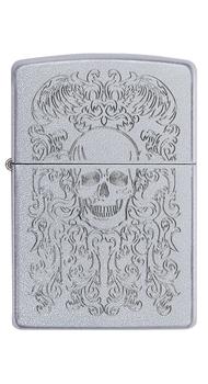 Зажигалка Zippo 205 21PFSPR Skull Design 49571