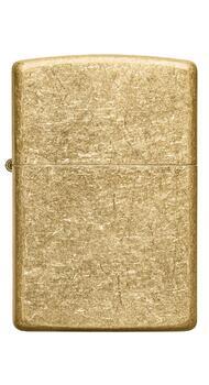 Зажигалка Zippo Regular Tumbled Brass 49477