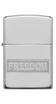 Зажигалка ZIPPO 250 Etched Freedom Design 49129