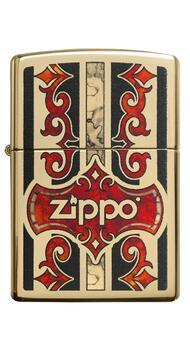 Зажигалка Zippo 254B Logo 29510
