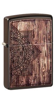 Зажигалка Zippo Wood Mandala Design 49184