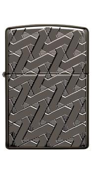 Зажигалка ZIPPO 24095 Geometric Weave Design Armor 49173