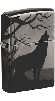 Зажигалка ZIPPO 150 Wolves Design 49188